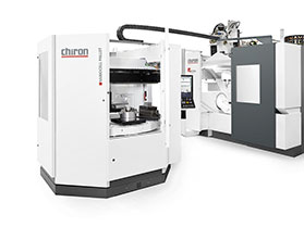 Autonomous machining of complex workpieces – at the EMO, CHIRON is combining the new FZ 16 S five axis with VariocellPallet pallet automation for the first time.