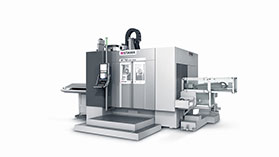 MT 733 one plus: Complete machining of complex components and difficult-to-cut materials.
